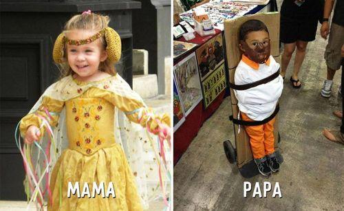 """Cười """"té ghế"""" sự khác biệt giữa cách trông con của bố và mẹ - Ảnh 8"""