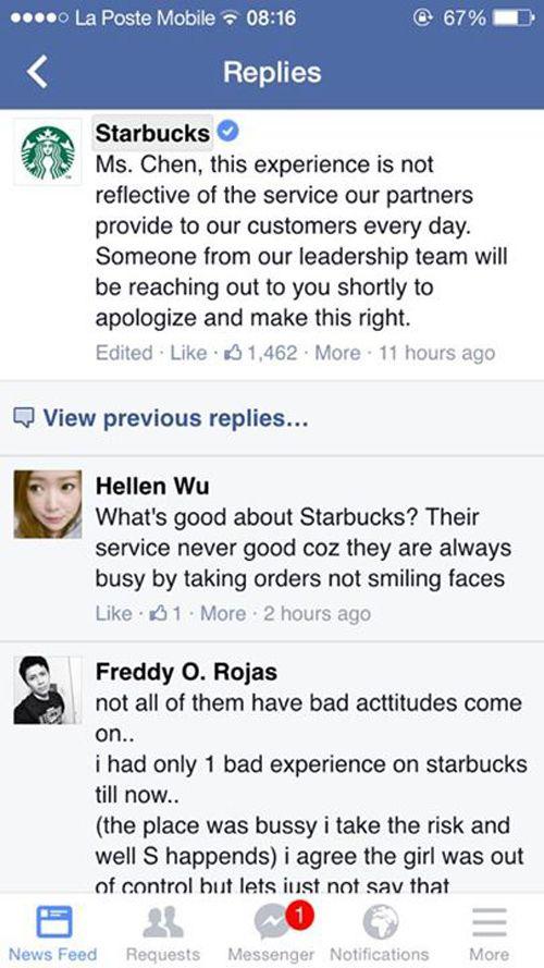 """Clip nhân viên Starbucks Mỹ chửi mắng khách hàng gây """"bão"""" mạng - Ảnh 2"""