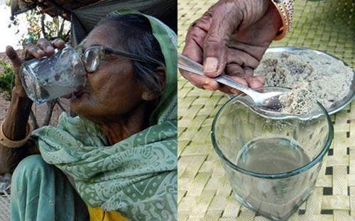 Lạ kỳ cụ bà 92 tuổi ăn 1kg cát mỗi ngày - Ảnh 2