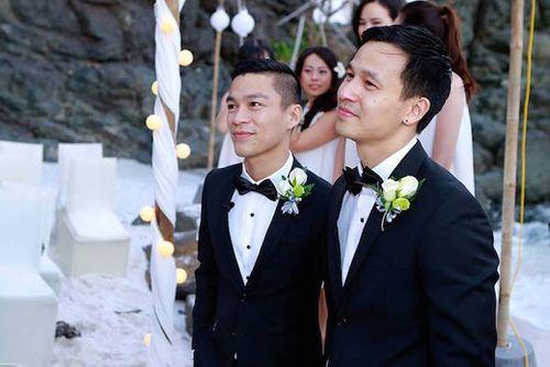 Ngắm ảnh cưới lãng mạn của các cặp đôi đồng tính - Ảnh 1