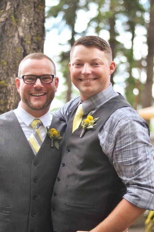 Ngắm ảnh cưới lãng mạn của các cặp đôi đồng tính - Ảnh 16