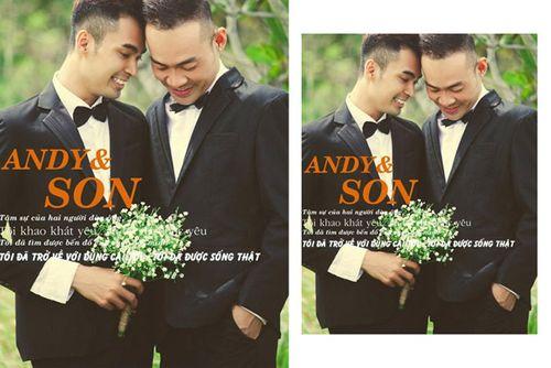 Ngắm ảnh cưới lãng mạn của các cặp đôi đồng tính - Ảnh 6