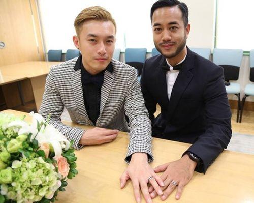 Ngắm ảnh cưới lãng mạn của các cặp đôi đồng tính - Ảnh 10