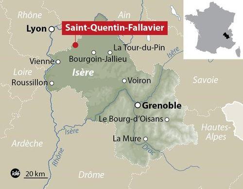 Rúng động vụ tấn công, chặt đầu tại nhà máy gas ở Pháp - Ảnh 1