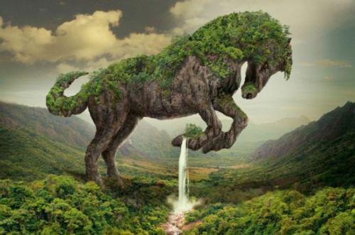 Những tuyệt tác siêu thực về con người và thiên nhiên - Ảnh 1
