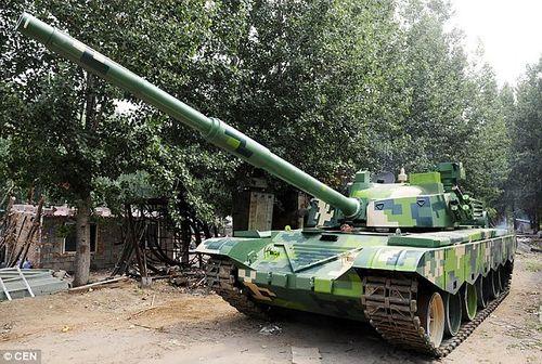 Ông bố nông dân tự chế tạo xe tăng cho trường của con - Ảnh 3