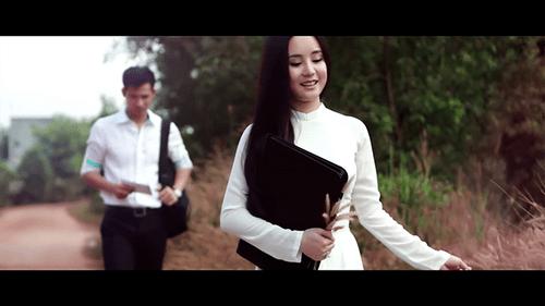 """Bà mẹ một con Vy Oanh khoe nét trẻ trong """"Trái tim còn trinh"""" - Ảnh 2"""