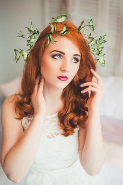 Mê mẩn loại bờm tóc lên ý tưởng từ các loài bướm rực rỡ - Ảnh 3