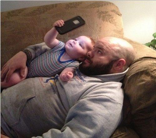 Chùm ảnh cho thấy cha là người thật tuyệt vời - Ảnh 6