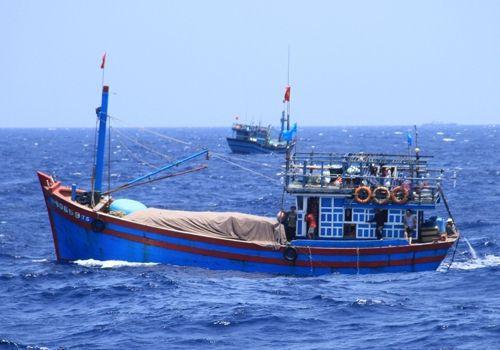 Ngư dân Việt gặp nạn trên biển được đưa về nước - Ảnh 1