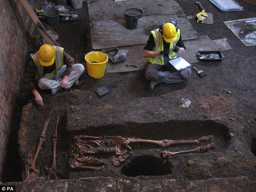 Sửa giảng đường, phát hiện 1.300 bộ xương người - Ảnh 4