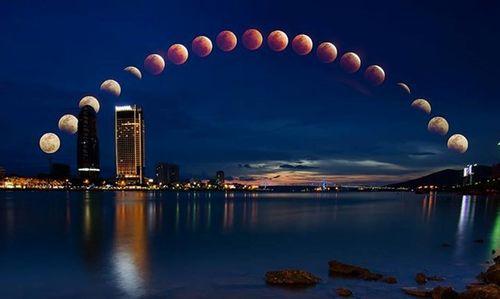 Những bức ảnh mặt trăng máu đẹp lạ lùng - Ảnh 1