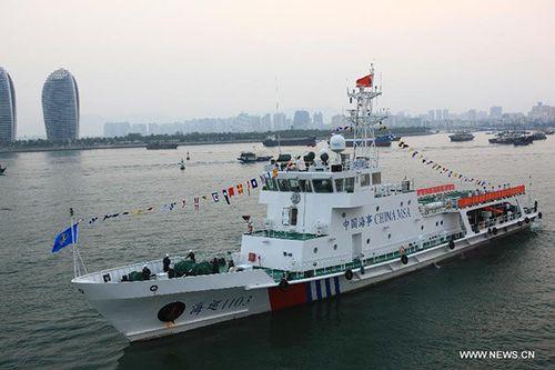 Trung Quốc tiếp tục tuần tra trái phép ở Biển Đông - Ảnh 1