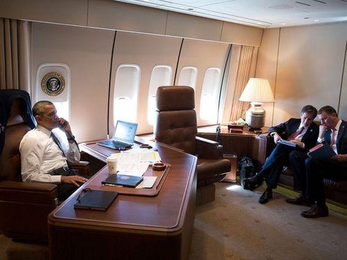 """Bên trong """"Nhà Trắng di động"""" của  tổng thống Obama  - Ảnh 2"""