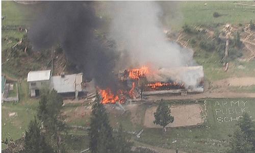 Trực thăng Pakistan gặp nạn: 2 đại sứ tử vong - Ảnh 1