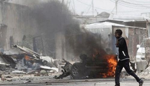 Đấu súng, đánh bom tại khách sạn trung tâm thủ đô Somalia - Ảnh 1