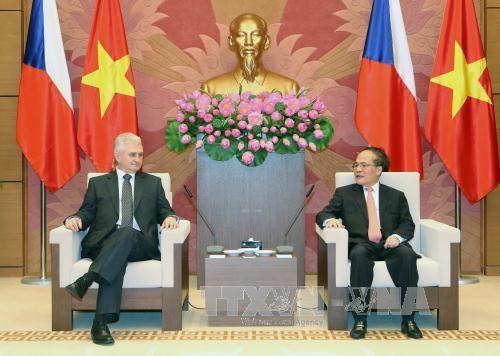 Chủ tịch Quốc hội hội đàm với Chủ tịch Thượng viện Séc - Ảnh 1