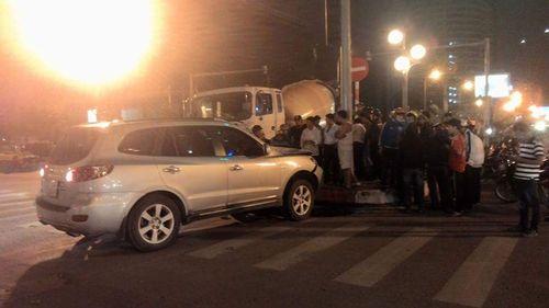 Khởi tố tài xế xe Santafe gây tai nạn đường Phạm Hùng - Ảnh 1