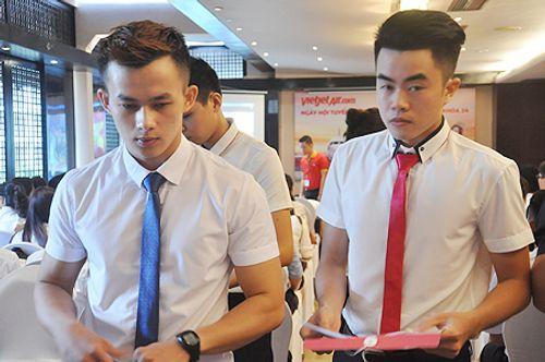 Những điều thú vị trong cuộc thi tuyển tiếp viên hàng không Việt Nam - Ảnh 1