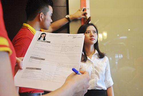 Những điều thú vị trong cuộc thi tuyển tiếp viên hàng không Việt Nam - Ảnh 7