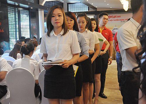 Những điều thú vị trong cuộc thi tuyển tiếp viên hàng không Việt Nam - Ảnh 3