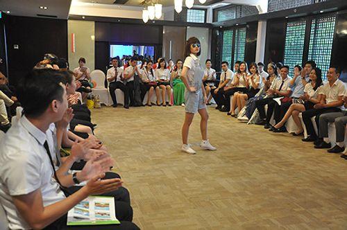 Những điều thú vị trong cuộc thi tuyển tiếp viên hàng không Việt Nam - Ảnh 12