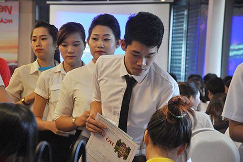Những điều thú vị trong cuộc thi tuyển tiếp viên hàng không Việt Nam - Ảnh 4