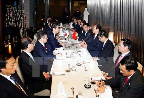 Thủ tướng Việt-Nhật bàn biện pháp triển khai thỏa thuận cấp cao - Ảnh 1
