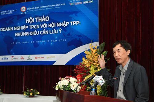 Doanh nghiệp Thực phẩm chức năng với hội nhập TPP - Ảnh 1