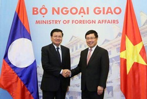 Họp Tham vấn cấp Bộ trưởng Ngoại giao Việt-Lào lần thứ hai - Ảnh 1