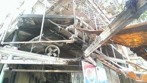 Cháy lớn tại quán phở ở Hà Nội, khách đang ăn bỏ chạy toán loạn - Ảnh 1