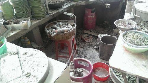 Cháy lớn tại quán phở ở Hà Nội, khách đang ăn bỏ chạy toán loạn - Ảnh 3