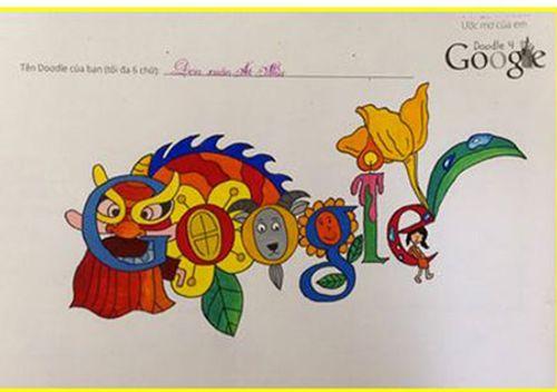 Chủ nhân bức tranh đăng trang chủ Google ngày 1/6 là cậu bé 8 tuổi - Ảnh 1