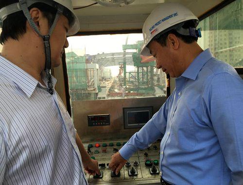 Hợp long tuyến đường sắt trên cao Cát Linh - Hà Đông - Ảnh 1