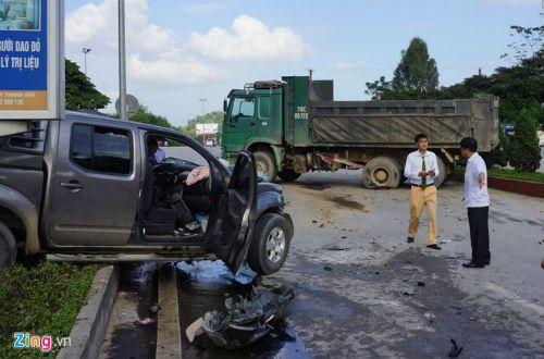 Vụ tai nạn 8 người thương vong ở Thanh Hóa: Xe bán tải chở quá số người quy định - Ảnh 1