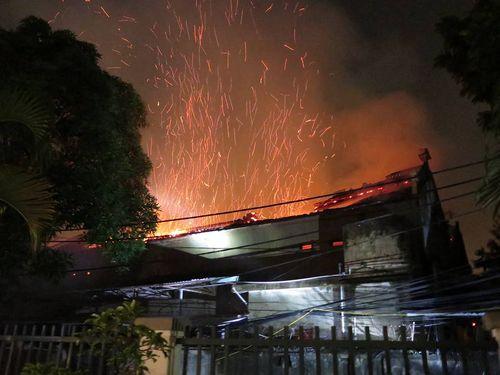 Quận Tây Hồ thông tin về vụ cháy nhà Tổ tại chùa Tĩnh Lâu - Ảnh 1
