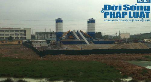Trường đại học thành nhà máy trộn bê tông khổng lồ - Ảnh 2