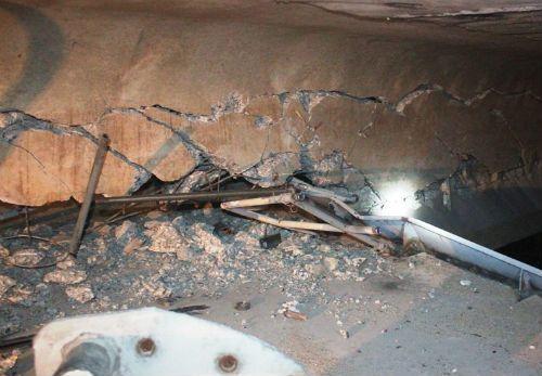 Cầu An Thái bị đâm vỡ dầm: Cảnh báo nguy cơ sập cầu - Ảnh 2