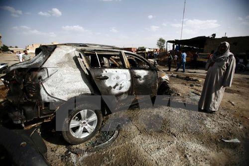 Cơ sở chế tạo bom của IS bị chiến đấu cơ san phẳng - Ảnh 1