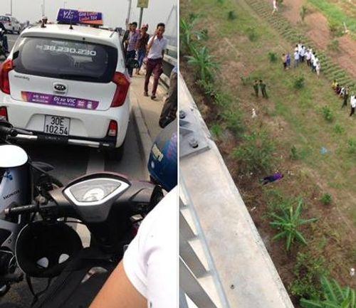 Bí ẩn tài xế taxi tử vong dưới cầu Nhật Tân - Ảnh 1
