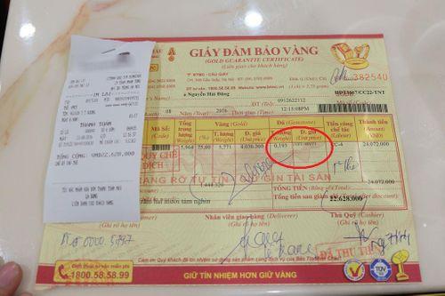 Khách hàng khiếu nại Bảo Tín Minh Châu bán đá tính tiền như giá vàng - Ảnh 2