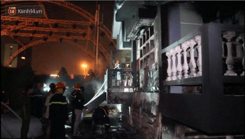 Cháy lớn tại trạm bơm xăng dầu ở Đà Nẵng - Ảnh 1