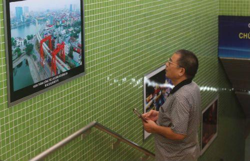 Chùm ảnh: Người dân háo hức tham quan nhà ga đường sắt La Khê - Ảnh 4