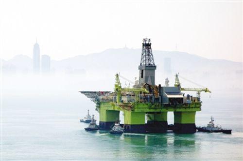 Trung Quốc kéo giàn khoan nước sâu thứ 2 xuống Biển Đông - Ảnh 1