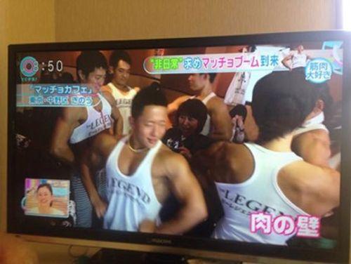 """Quán café """"cơ bắp"""" hút hồn chị em ở Nhật Bản - Ảnh 6"""