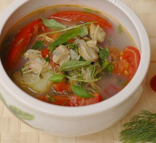 Canh ngao nấu dứa chua dịu đưa cơm - Ảnh 4