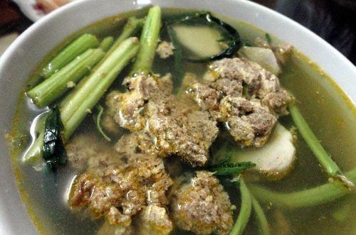 Canh cua rau rút lý tưởng cho bữa ăn ngày nóng - Ảnh 2