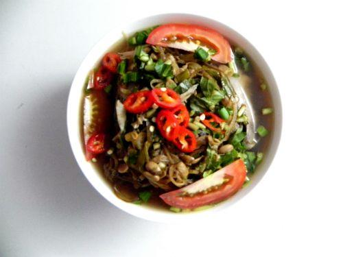Canh chua cá đuối bắp chuối đậm vị miền Trung - Ảnh 3