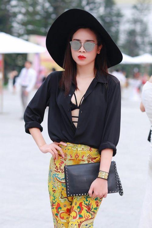 Lưu Hương Giang khoe nội y gây sốc ở Đẹp Fashion Runway - Ảnh 2