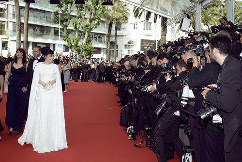 Lý Nhã Kỳ tinh khôi đọ sắc Phạm Băng Băng trên thảm đỏ Cannes - Ảnh 9
